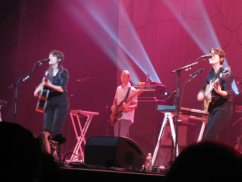 Tegan and Sara and covers