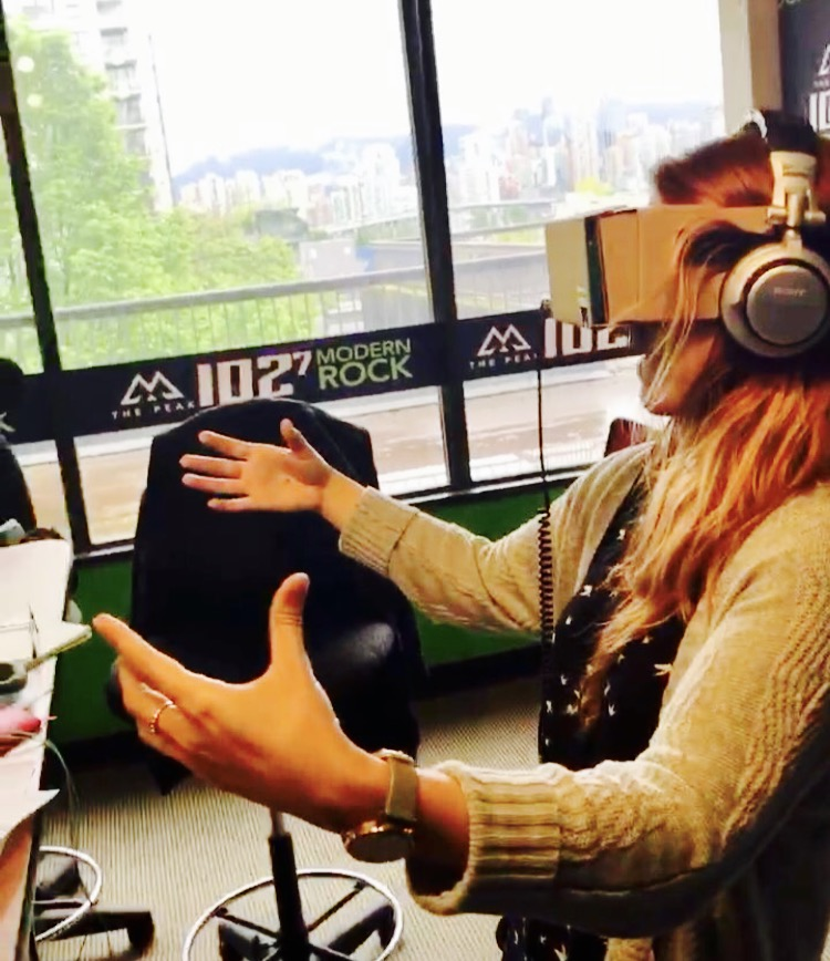 Casey-Jo Watches VR Porn