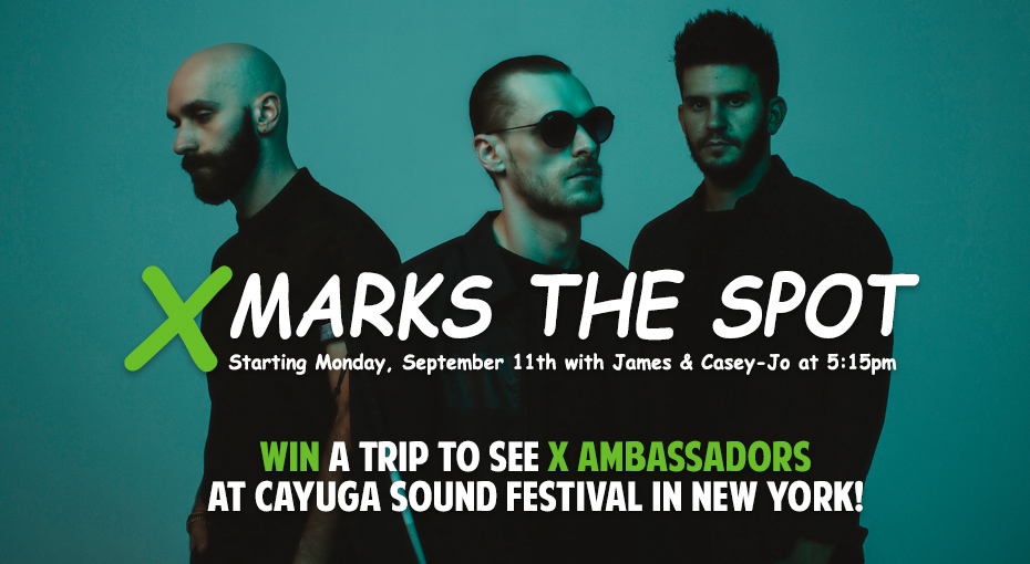 See X Ambassadors in New York!