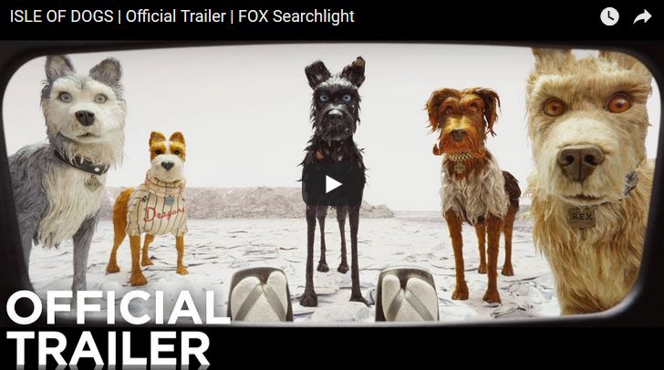 """New Wes Anderson Movie 'Isle Of Dogs"""""""