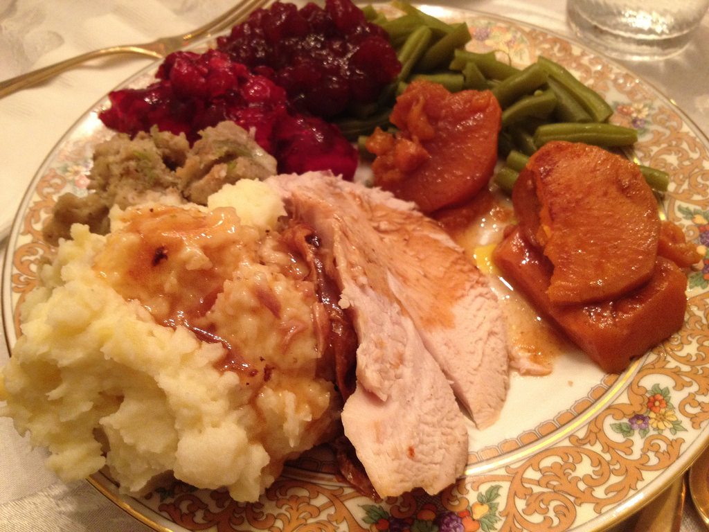 Thanksgiving debacle: White OR dark meat? Cranberries OR gravy!?