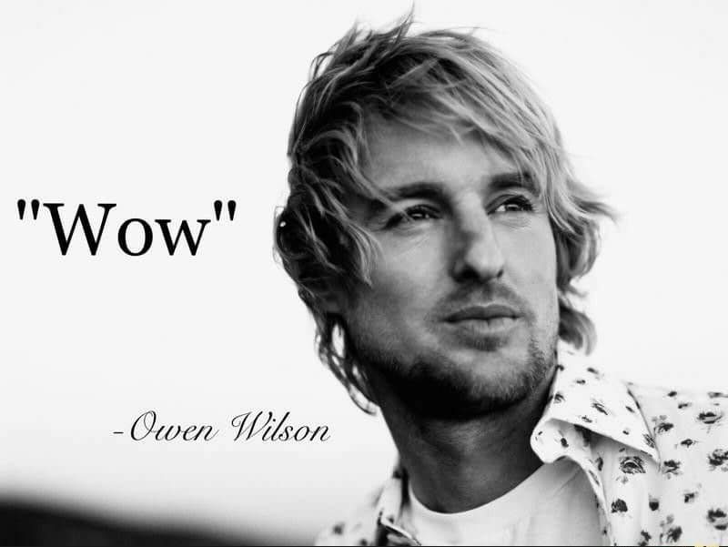 Bulls on Parade but the wah pedal parts are replaced with Owen Wilson saying wow