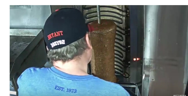WATCH: 24/7 Live Stream of Spinning Donair Meat in Nova Scotia
