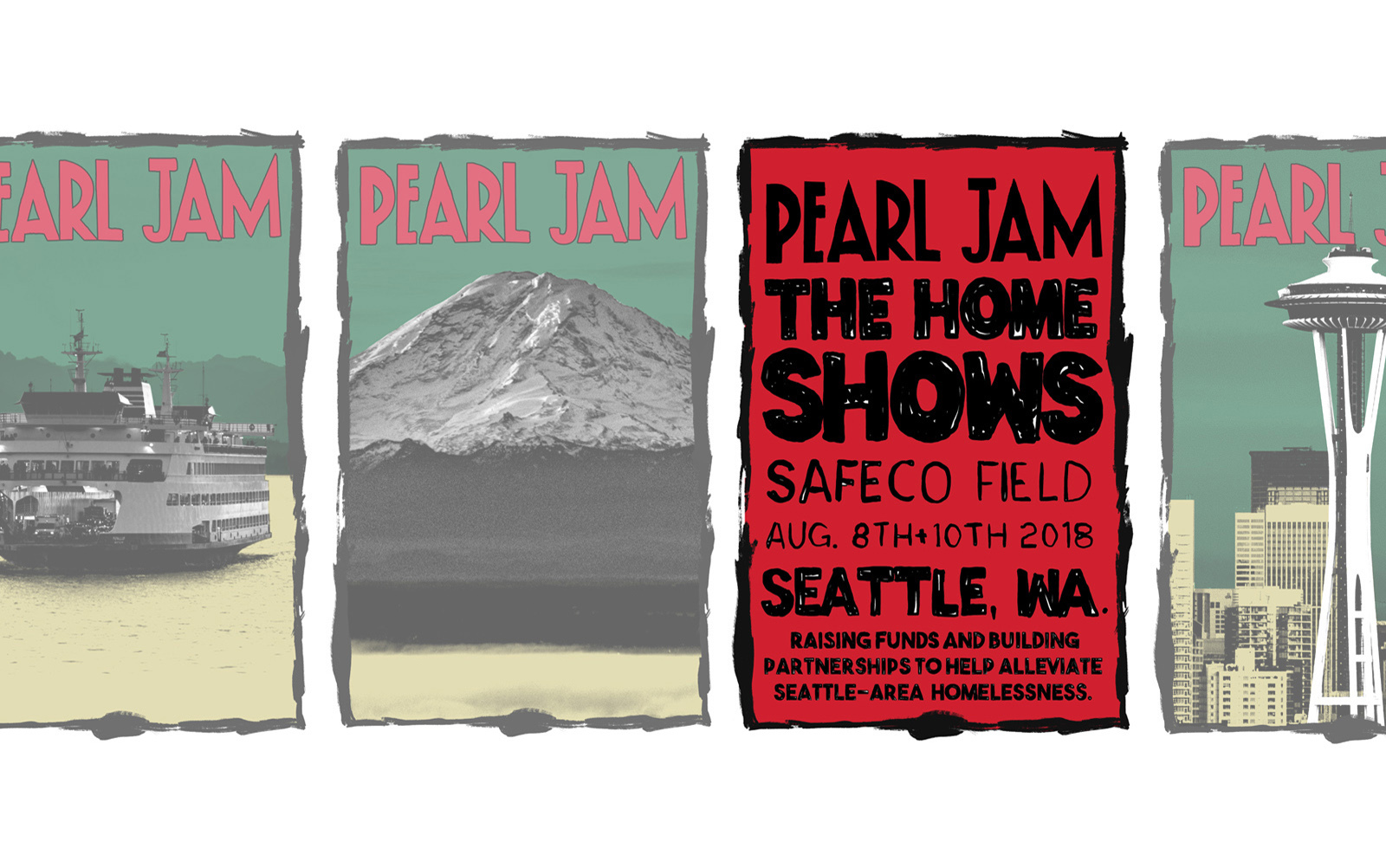 Pearl Jam CONFIRMED Seattle Shows  Aug 8+10 with ticket info