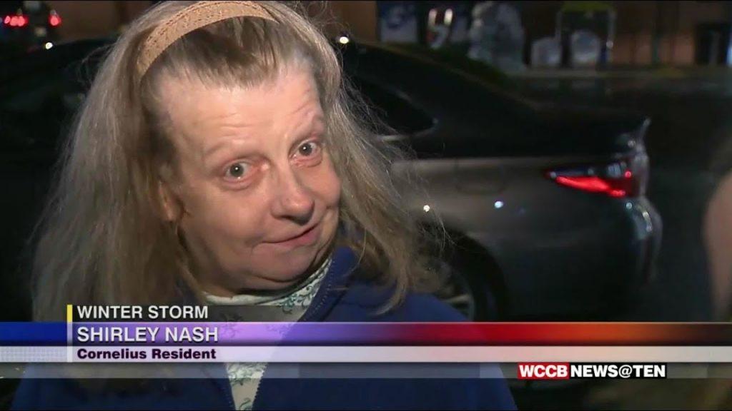 Woman's Response To Winter Weather Breaks Internet