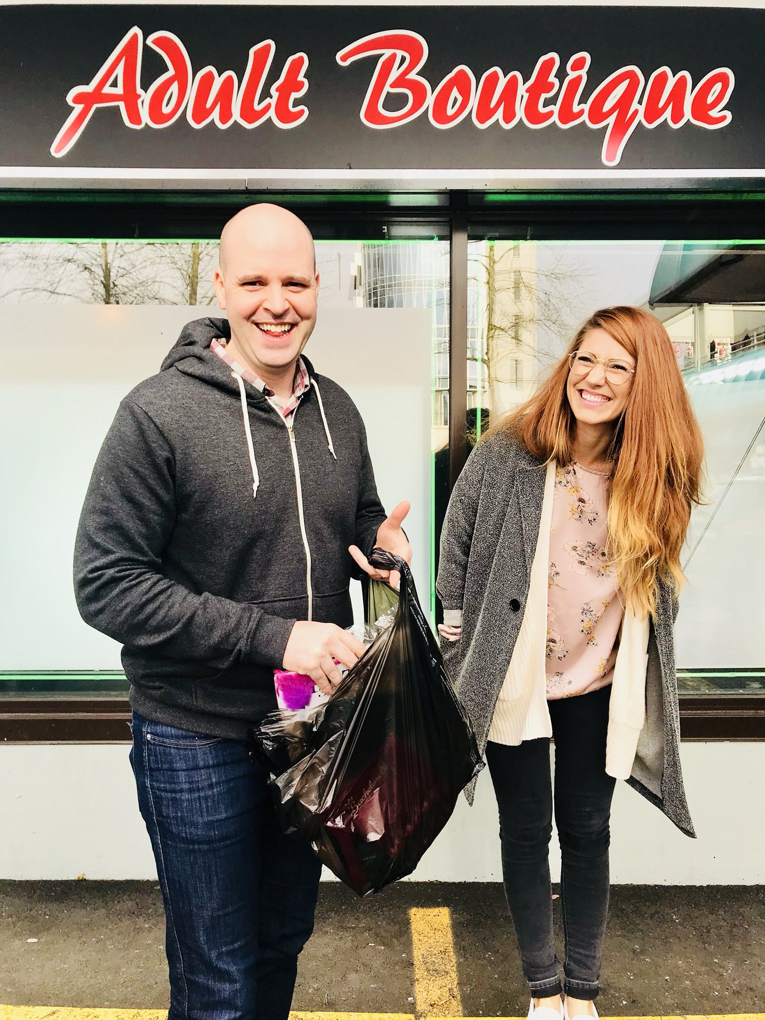 You're Not Really Friends Until You Go Buy Sex Toys Together