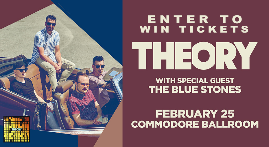 PEAK VIP's: Win tickets to see Theory of a Deadman