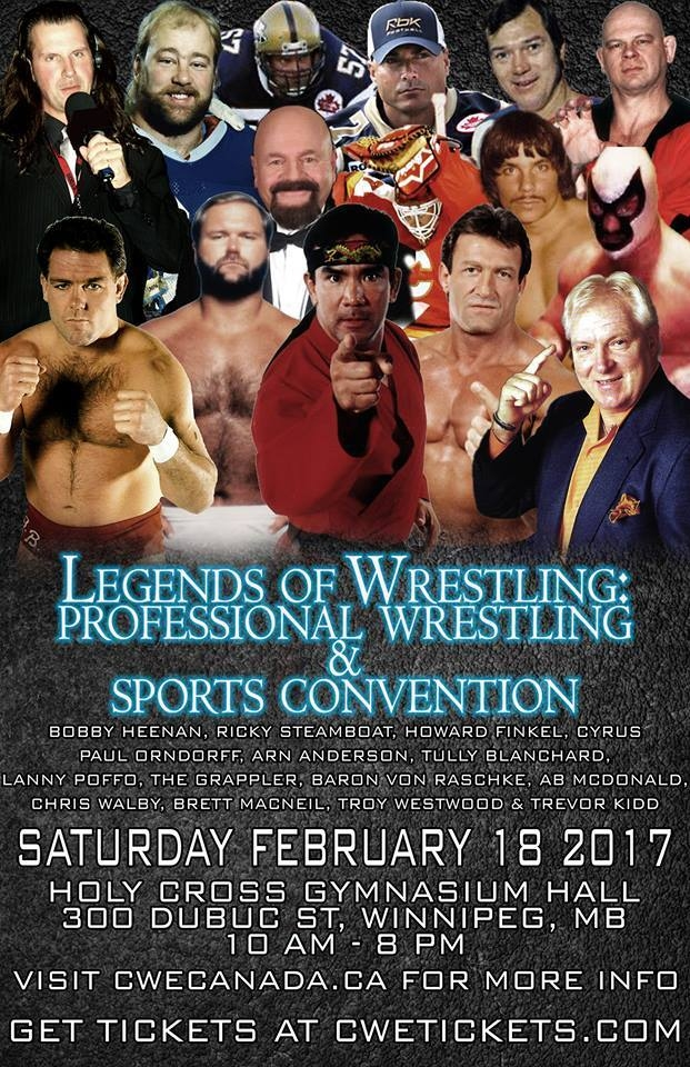 Meet Legends of Pro Wrestling TOMORROW!