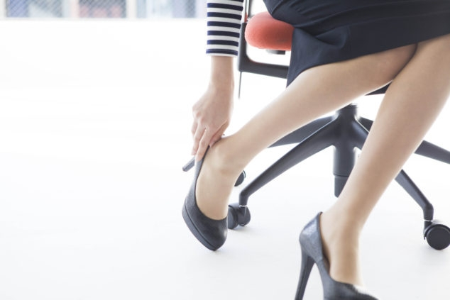 High Heels a Workplace Hazard?