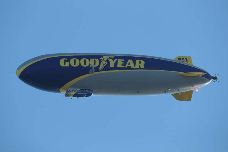 The Goodyear Blimp Has Gone Limp
