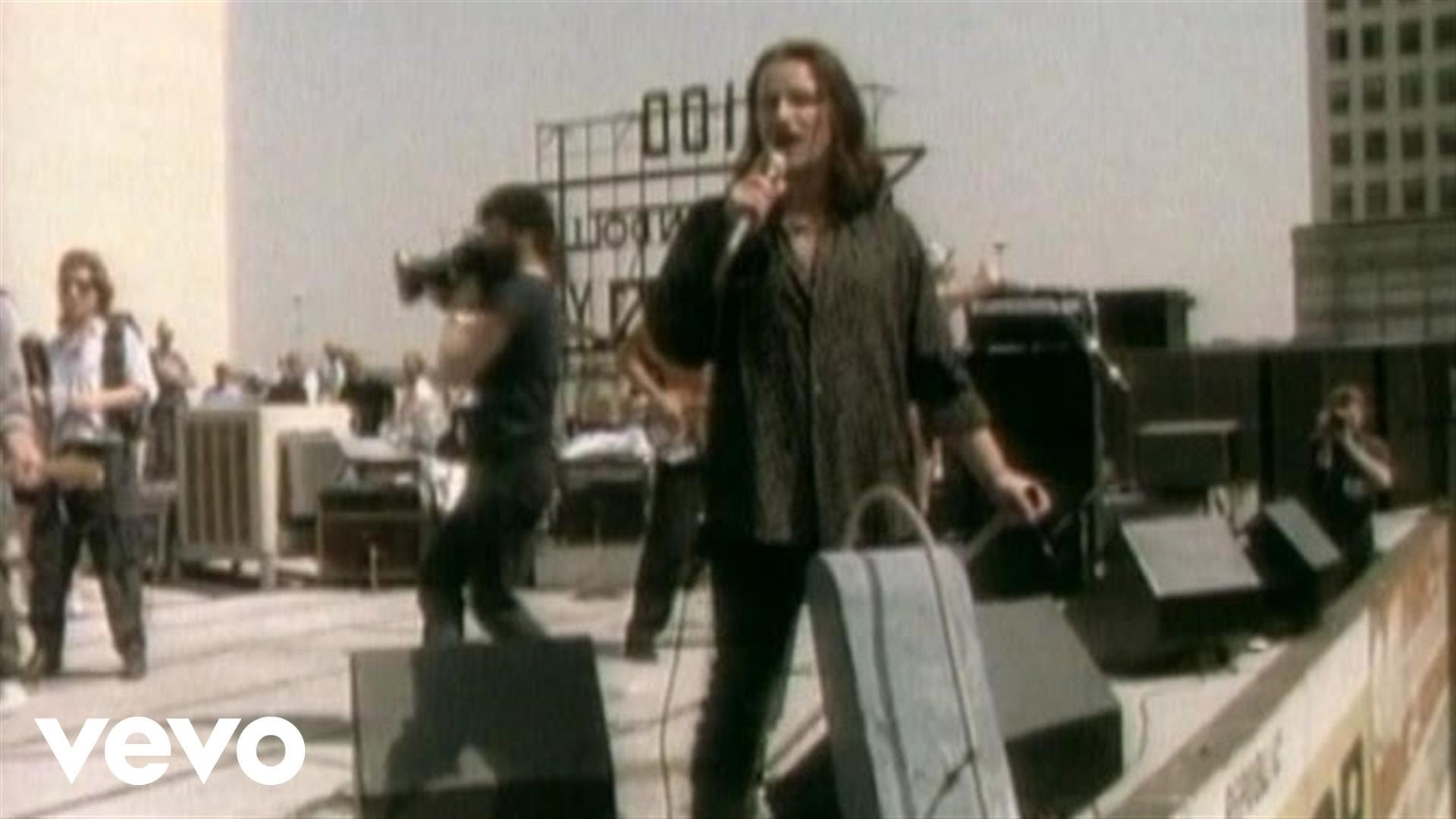 Today's the day that U2 performed on top of a building...and got shut down