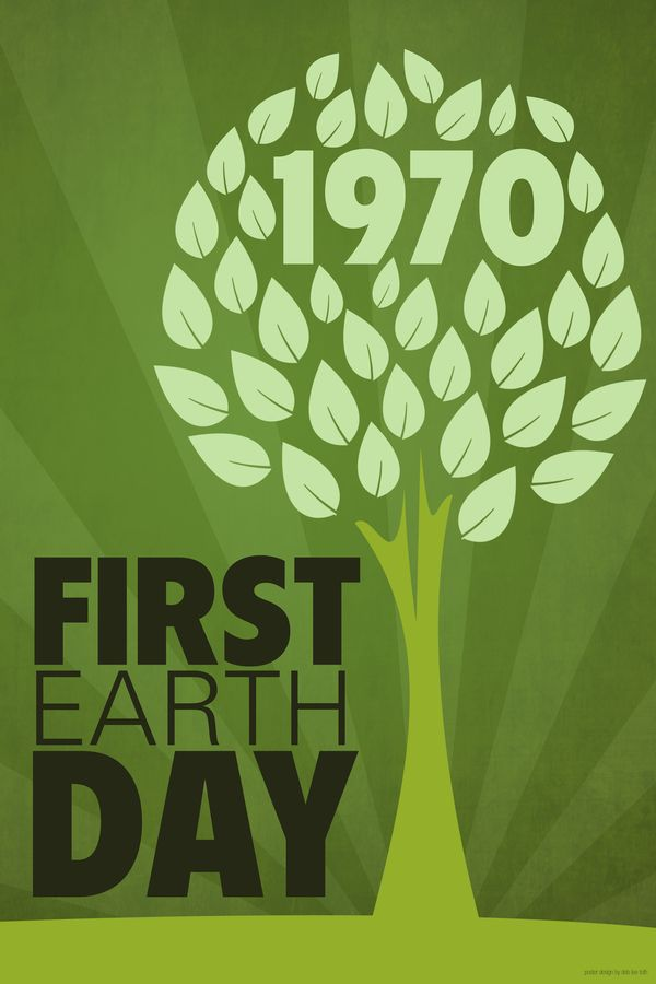 EARTH DAY, WHEN IT BEGAN.