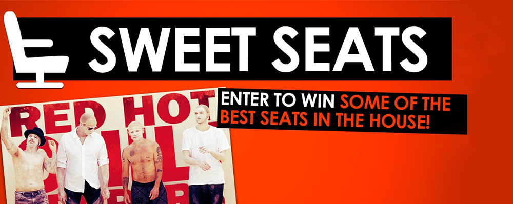 Win Red Hot Chili Peppers Tickets!