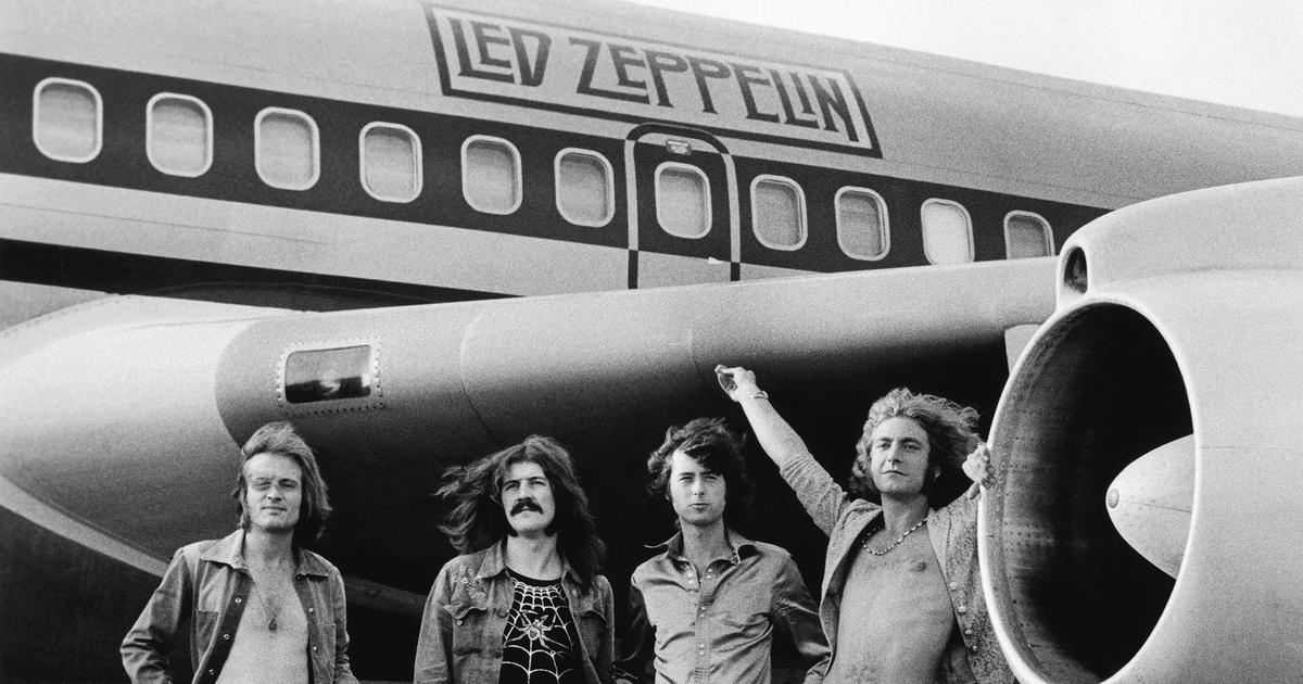 Led Zeppelin is my favourite band. Man...were they wild!