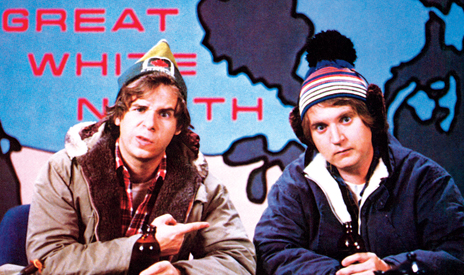 Bob and Doug Mackenzie. A FUN FACT. - Kerri Salki