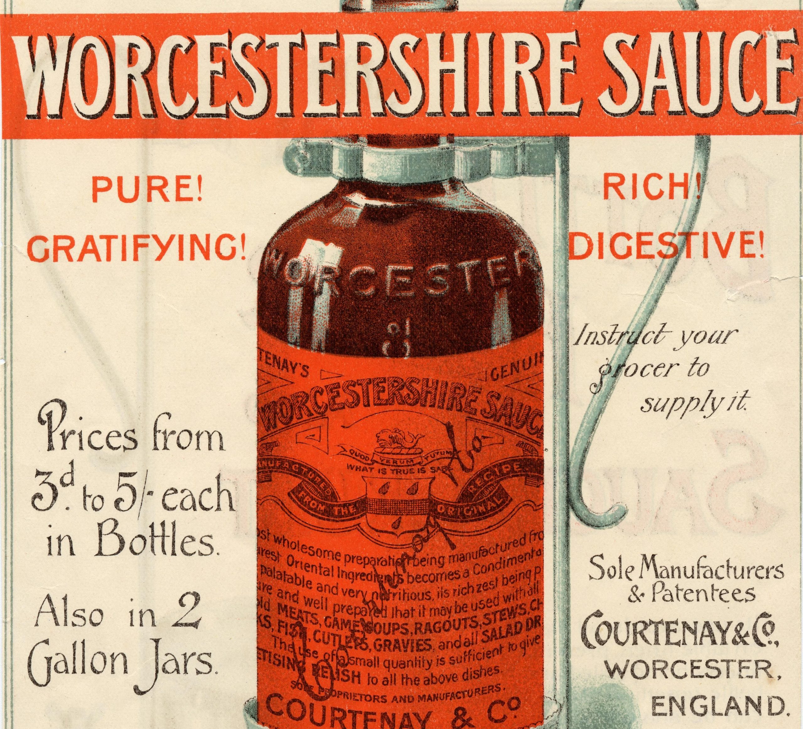 Worcestershire Sauce. How was it invented?