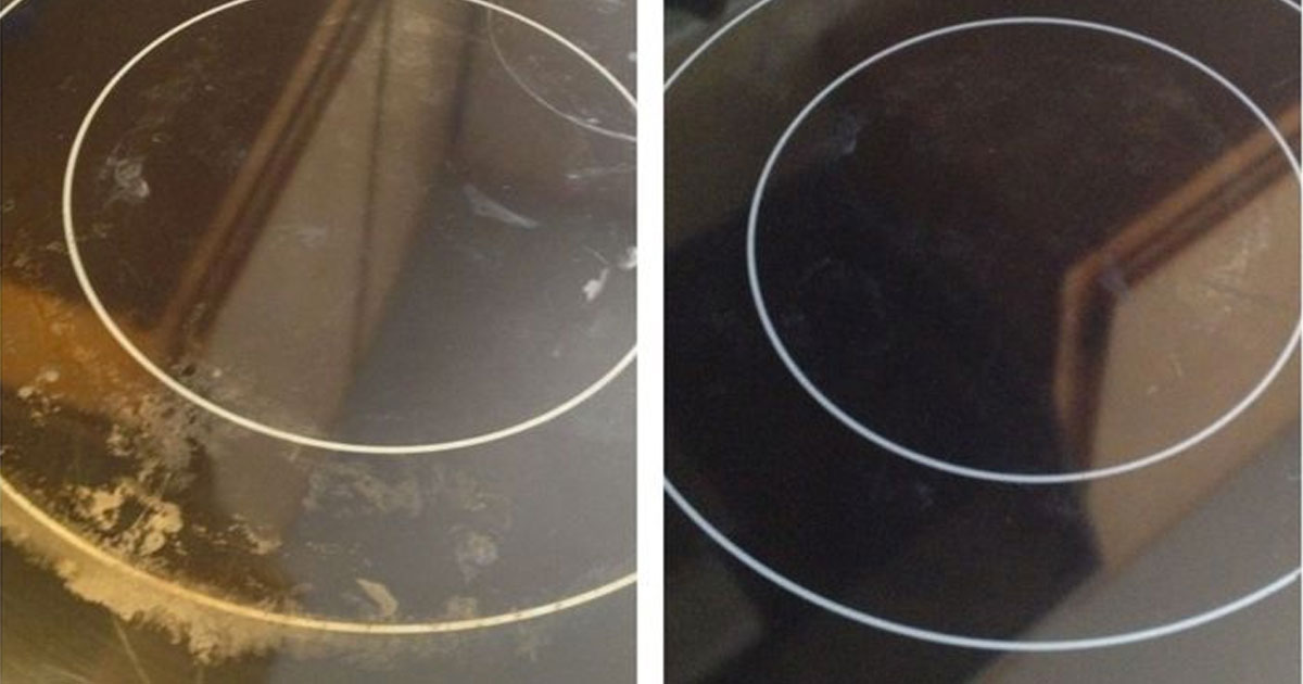 For The HACK of It #3: How To Clean A Glass Stove Top