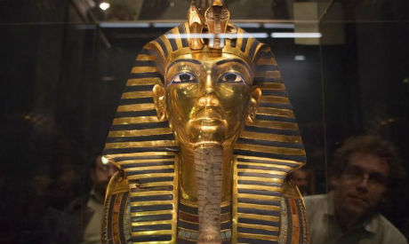 King Tut On The Move