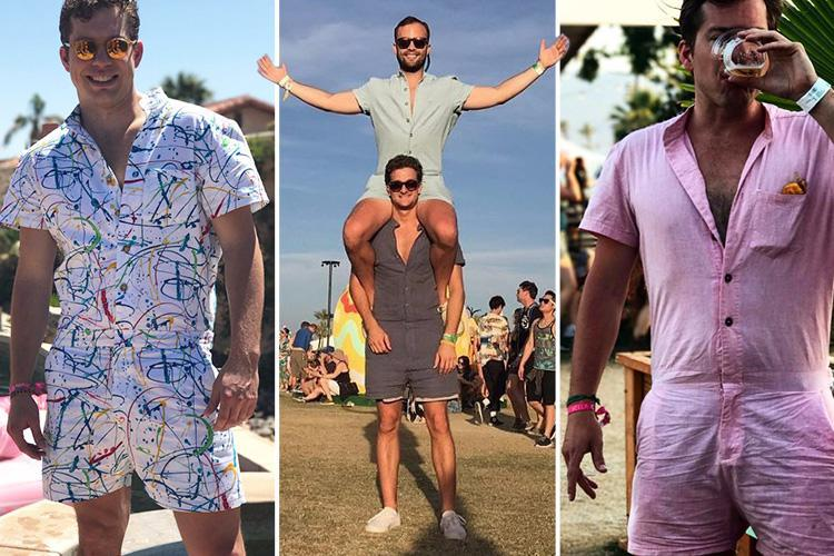 Move Over Romphim.....Lace Shorts For Men Have Arrived!