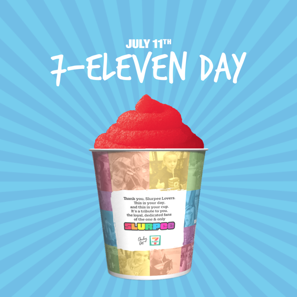 It's 7/11 DAY in Winnipeg Today! GET YOUR SLURPEE ON!