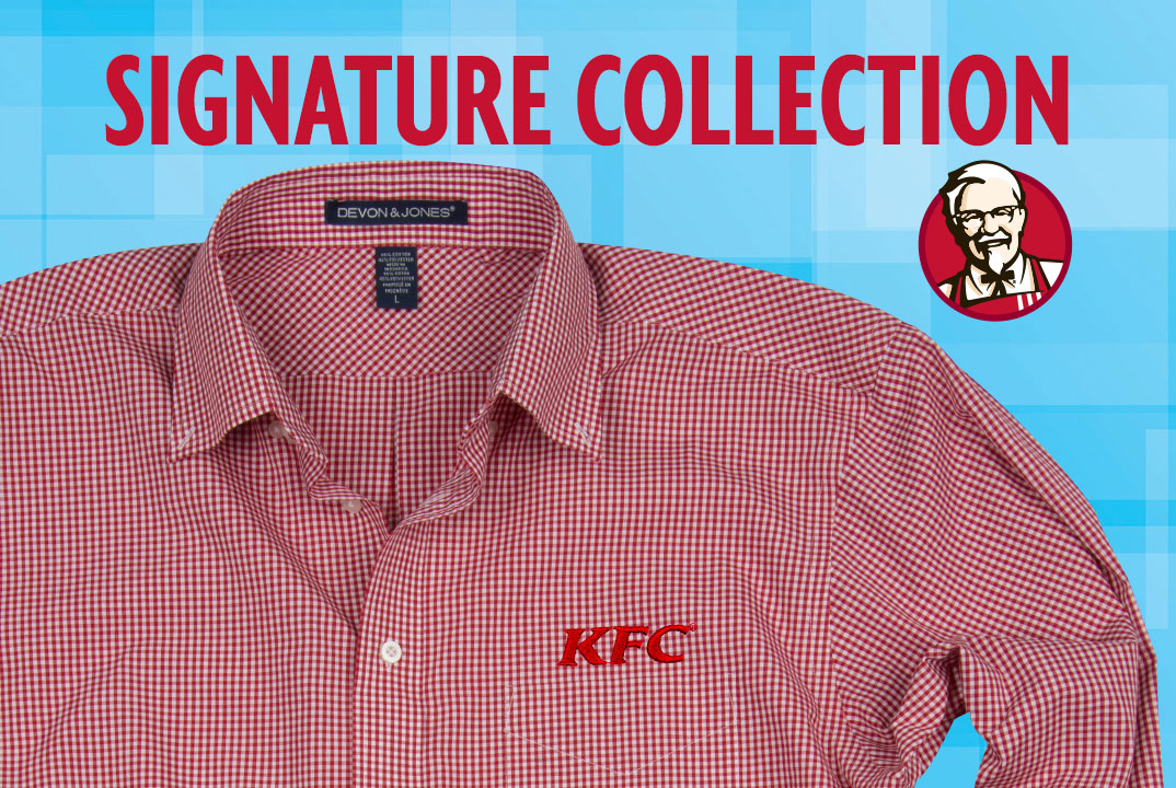 BIRD IS THE WORD. KFC...has a CLOTHING LINE?