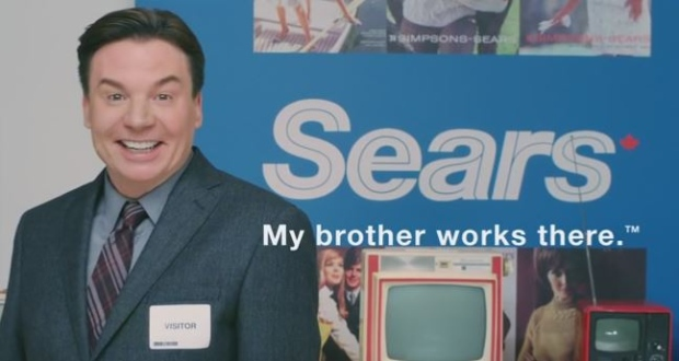 Mike Myers Stars in a Sears Commercial with his Brother!