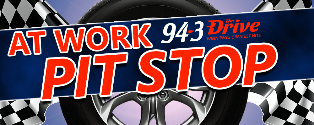 Sign-up for a 94-3 The Drive At Work Pit Stop!