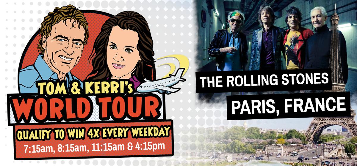 Tom & Kerri's World Tour #9: The Rolling Stones in Paris