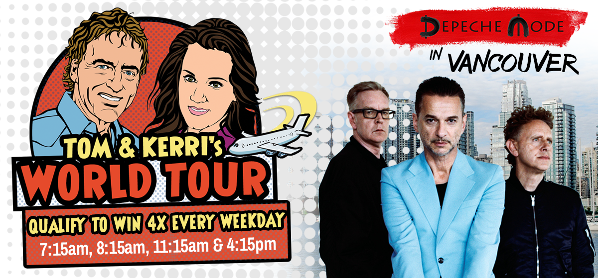 Tom & Kerri's World Tour #8: Depeche Mode in Vancouver!