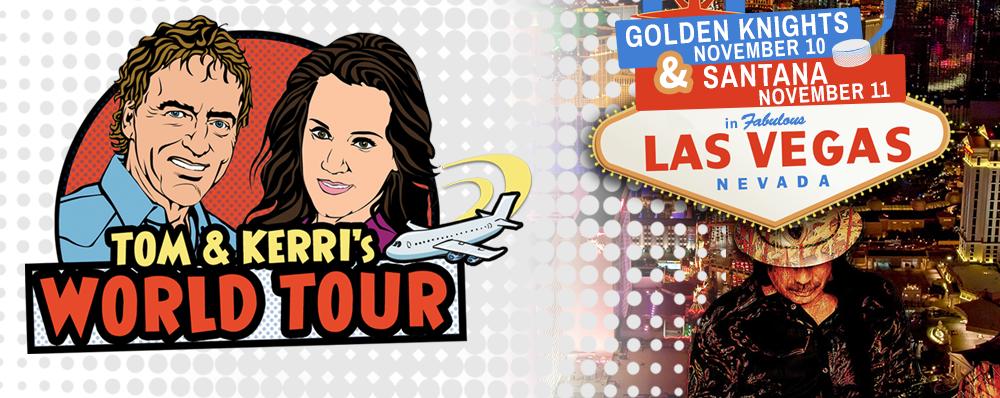 Win a trip to Vegas to see Hockey & Santana!