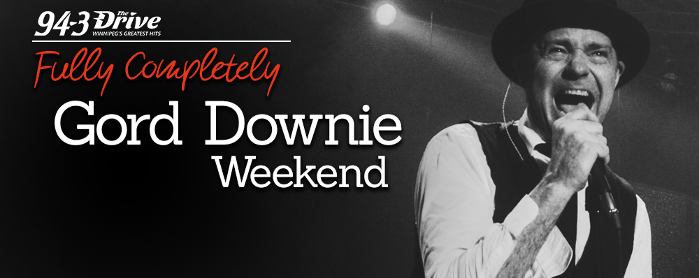 This weekend, we pay tribute to Gord Downie