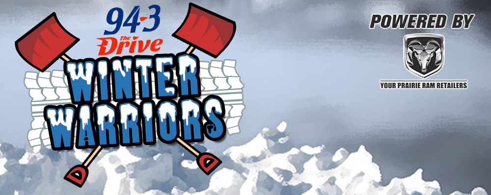 The 94-3 The Drive Winter Warriors are Back!