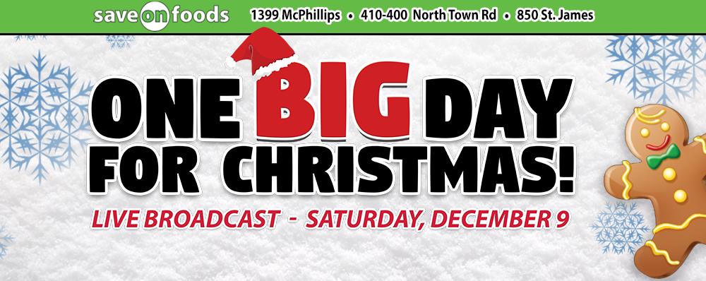 Help us support Winnipeg Harvest, this Christmas!