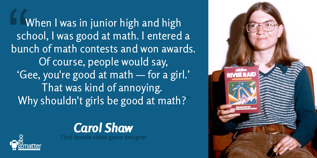 Have you ever heard of Carol Shaw?