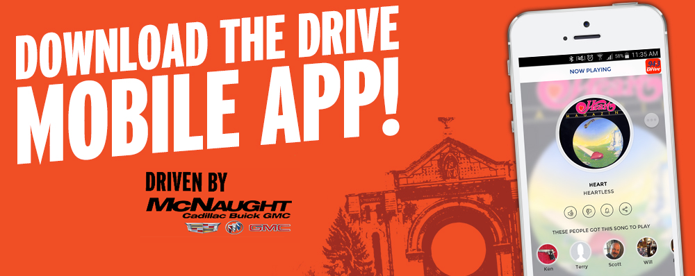 Download the 94-3 The Drive Mobile App!