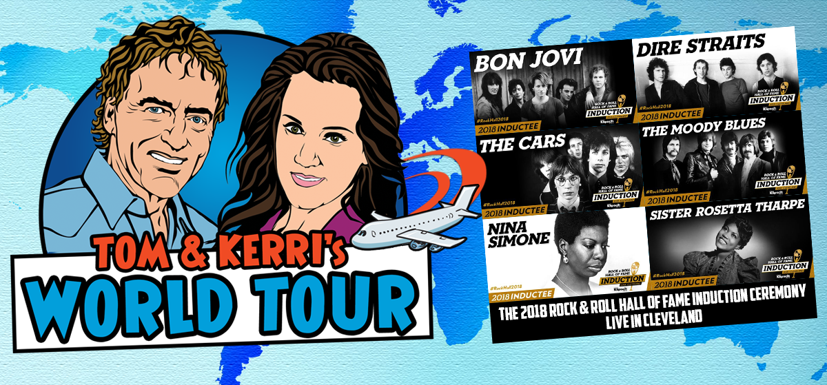 Tom & Kerri's World Tour #13 – Rock & Roll Hall of Fame Induction Ceremony