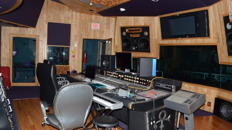 WATCH: Inside Prince's Paisley Park home and studio, as found by police on 4.21.16.