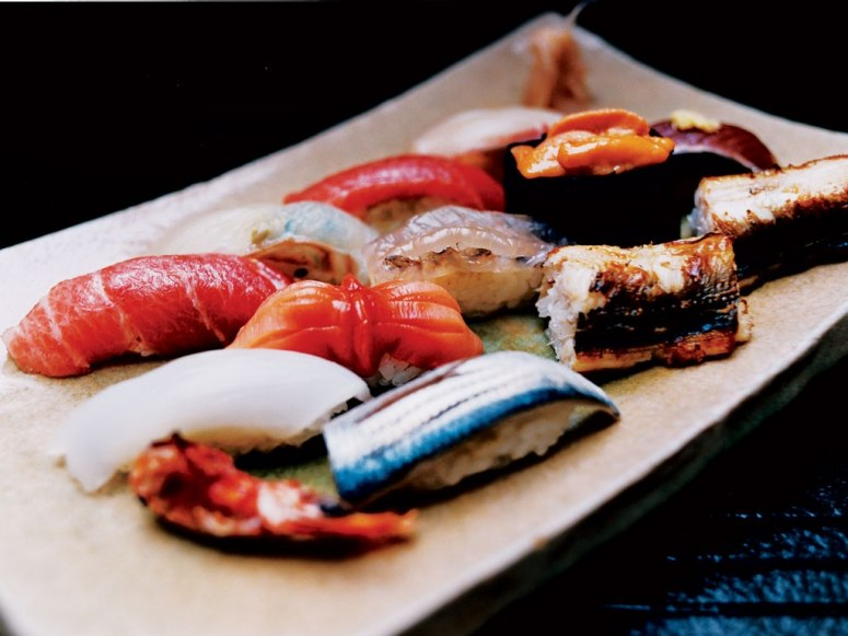 Ever wonder what the BEST SUSHI in the WORLD looks like?  Wonder no longer!!