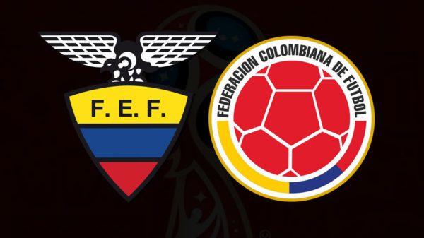 Ecuador y Colombia disputan un partido de vida o muerte