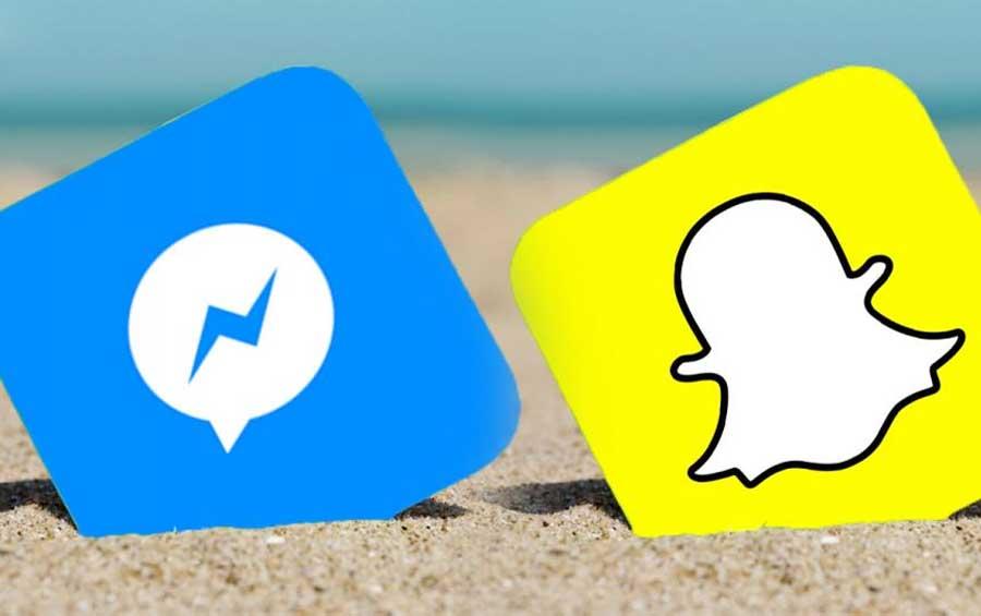 """Facebook lanza """"Messenger Day"""" para competir con Snapchat"""
