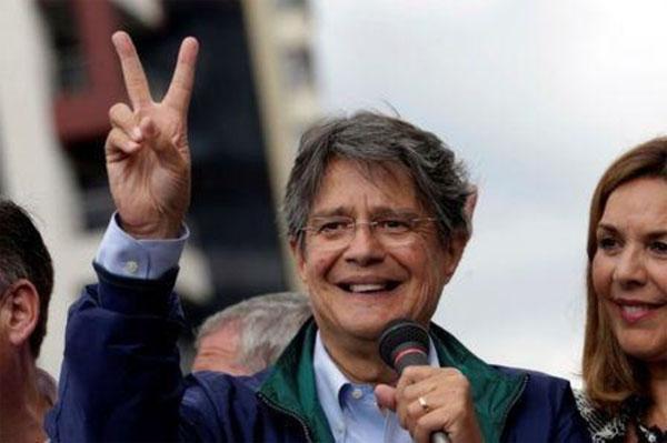 Lasso es el Presidente Electo del Ecuador segun exit poll