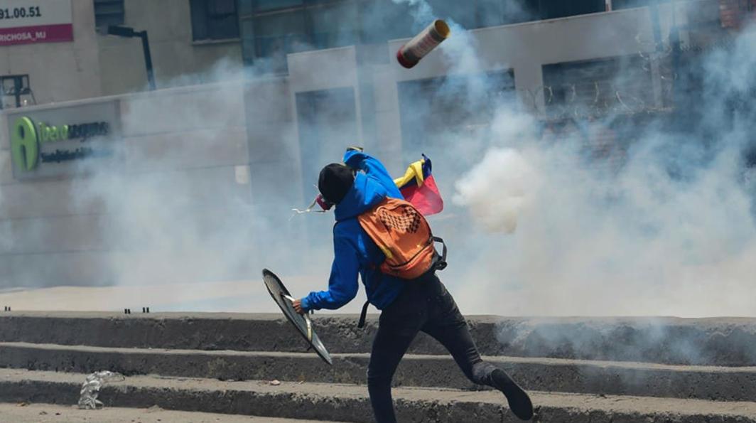 En medio de protestas en Venezuela, un muerto