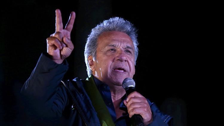 Resultados oficiales al 93.63%: Moreno 51.06%, Lasso 48.94%