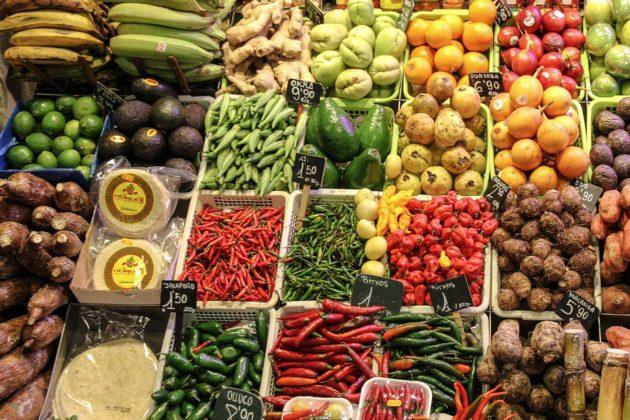 Sustancias potencialmente dañinas de alimentos saludables