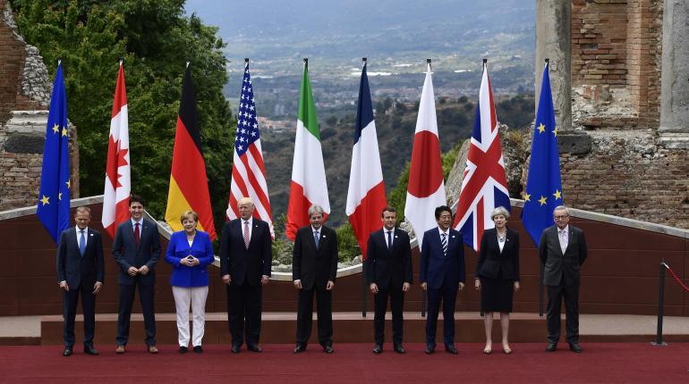 Líderes del G7 inauguraron cumbre en Italia
