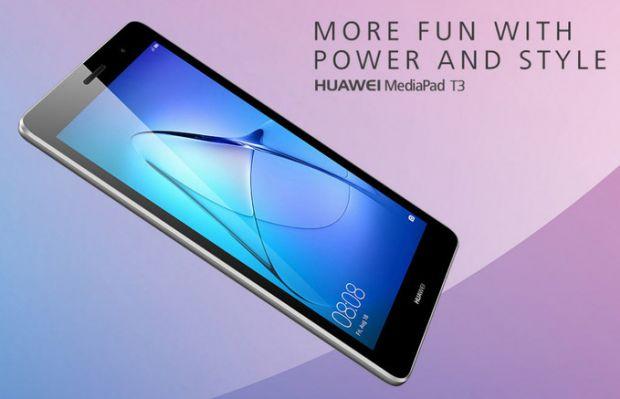 Huawei lanzará nuevos modelos de su tabled MediaPad con tecnología Android 7.0