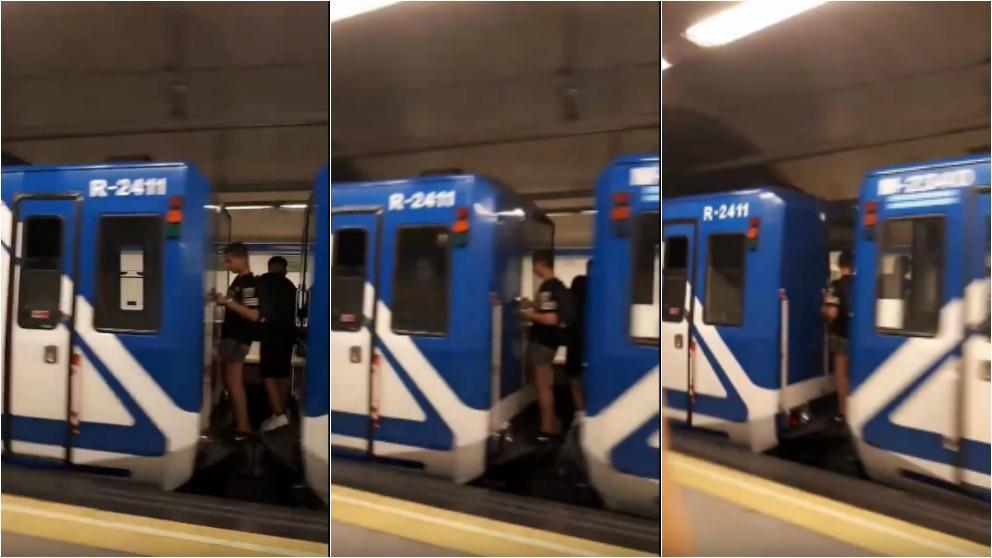 """Un niño se quedó sin piernas al realizar un peligroso """"juego"""" en el metro de Madrid"""