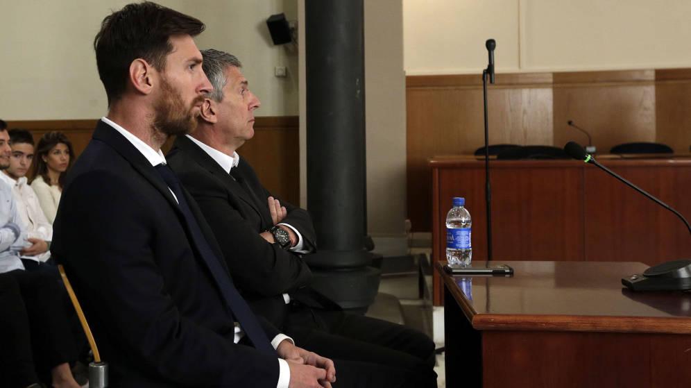 El supremo mantiene condena contra Messi de 21 meses de cárcel por delito fiscal