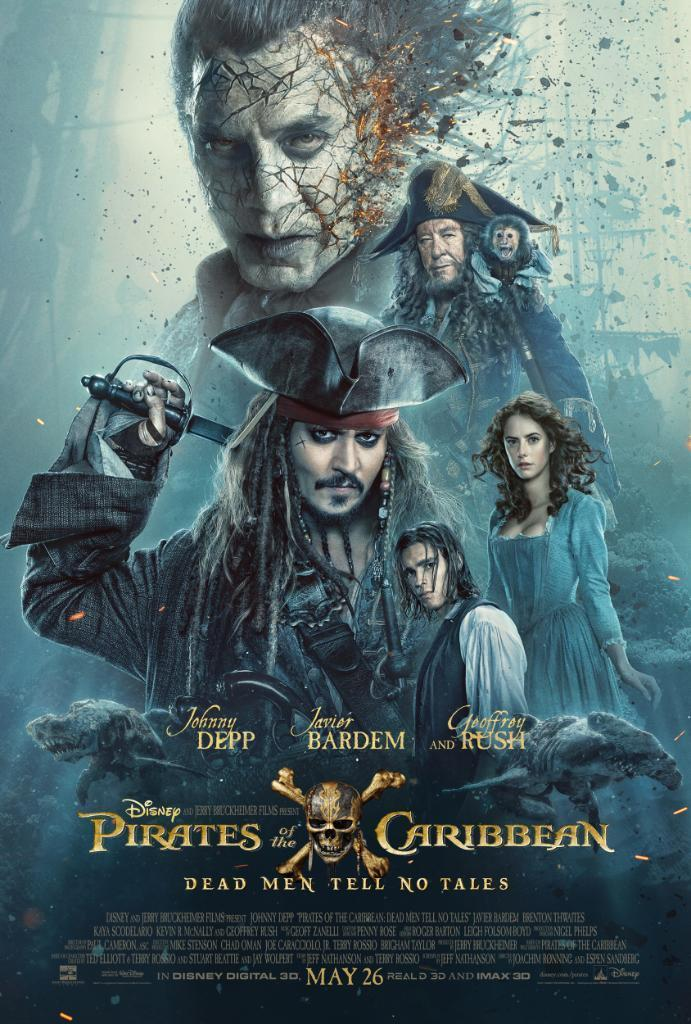 Piratas del Caribe: La venganza de Salazar se estrena hoy en carteleras de cine