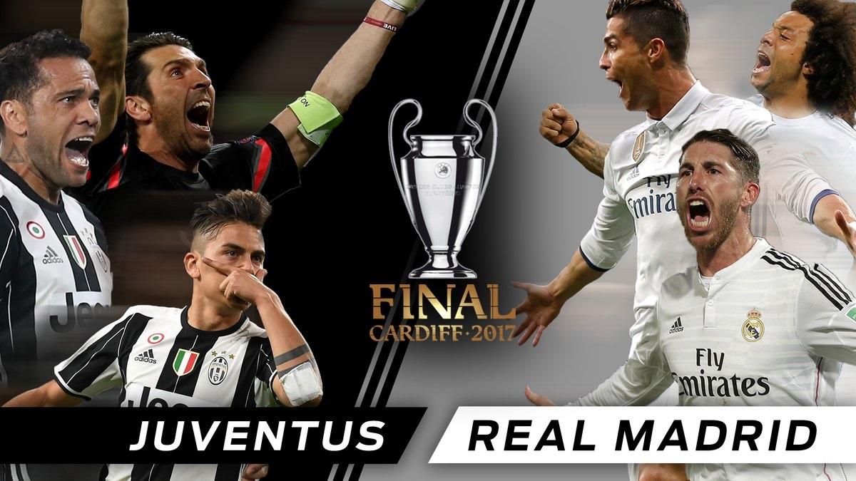 Real Madrid vs. Juventus jugarán por definir al campeón de la Champions Leagues